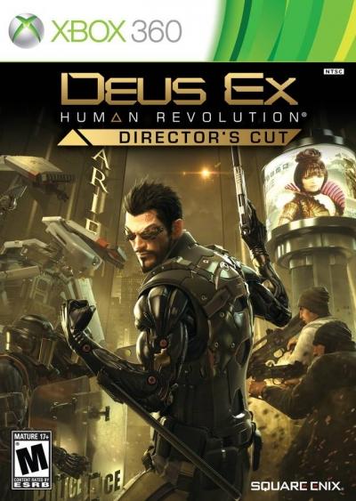 Obal hry Deus Ex Human Revolution Director´s Cut