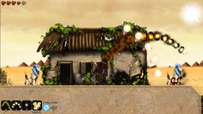 Screen ze hry A Valley Without Wind 2