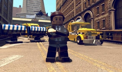 Screen ze hry LEGO Marvel Super Heroes