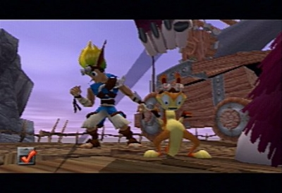 Screen ze hry Jak and Daxter - The Precursor Legacy