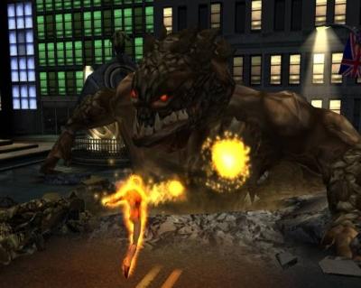 Screen ze hry Fantastic Four