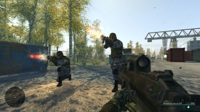 Screen ze hry Chernobyl Commando