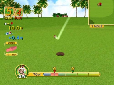 Screen ze hry Super Monkey Ball Deluxe