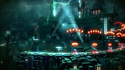 Screen ze hry Resogun