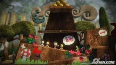 Screen ze hry Little Big Planet Game Of The Year, Greatest Hits
