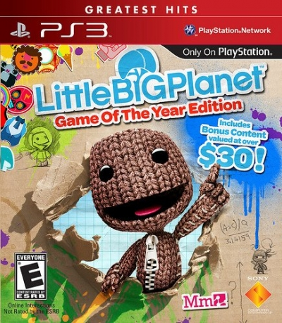 Obal hry Little Big Planet Game Of The Year, Greatest Hits