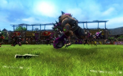 Screen ze hry Blood Bowl