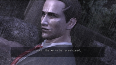 Screen ze hry Deadly Premonition: The Director´s Cut