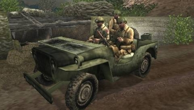 Screen ze hry Call of Duty: Roads to Victory