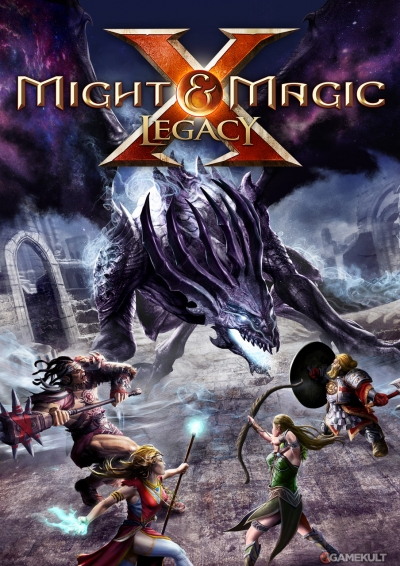 Obal hry Might and Magic X: Legacy