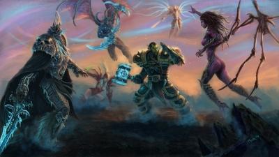 Artwork ke hře Heroes of the Storm