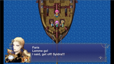 Screen ze hry Final Fantasy V
