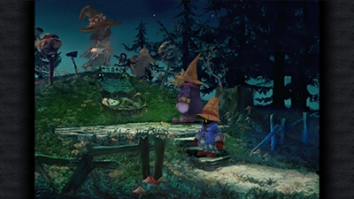 Screen ze hry Final Fantasy IX