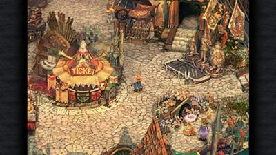 Screen ze hry Final Fantasy IX