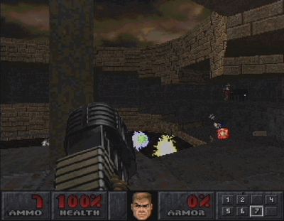 Screen ze hry Final Doom