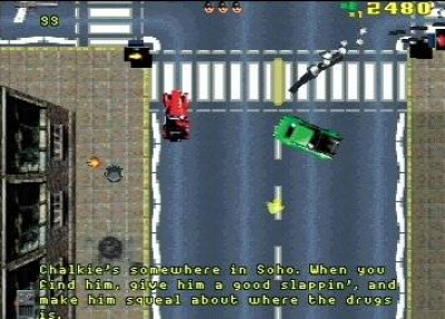 Screen ze hry Grand Theft Auto: London 1969