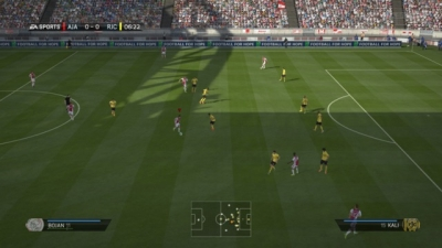 Screen ze hry FIFA 14
