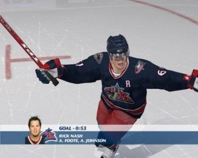 Screen ze hry NHL 07