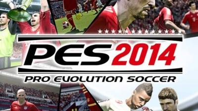 Artwork ke hře Pro Evolution Soccer 2014