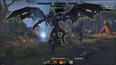 Screen ze hry Elder Scrolls Online
