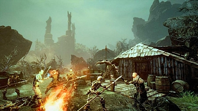 Screen ze hry Risen 3: Titan Lords