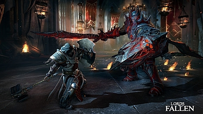 Screen ze hry Lords of the Fallen
