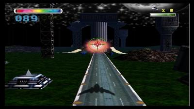 Screen ze hry Star Fox 64