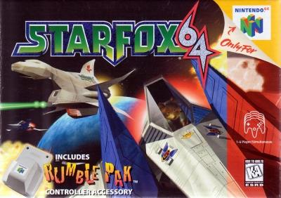 Obal hry Star Fox 64