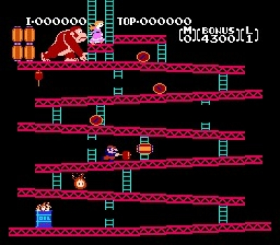 Screen ze hry Donkey Kong