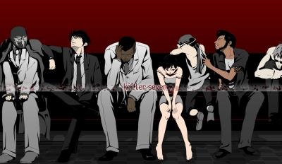 Screen ze hry Killer7