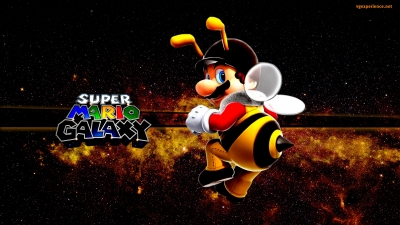 Artwork ke hře Super Mario Galaxy