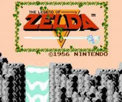 Screen ze hry The Legend of Zelda