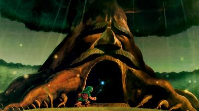 Artwork ke hře The Legend of Zelda: Ocarina of Time