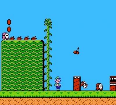 Screen ze hry Super Mario Bros. 2