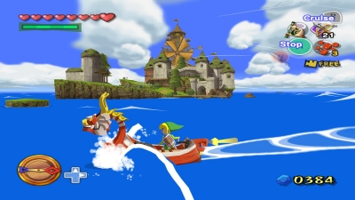 Screen ze hry The Legend of Zelda: The Wind Waker