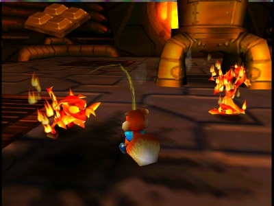Screen ze hry Conker´s Bad Fur Day