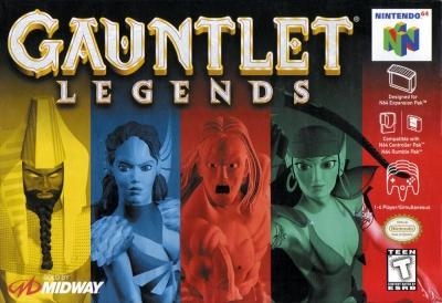 Obal hry Gauntlet Legends