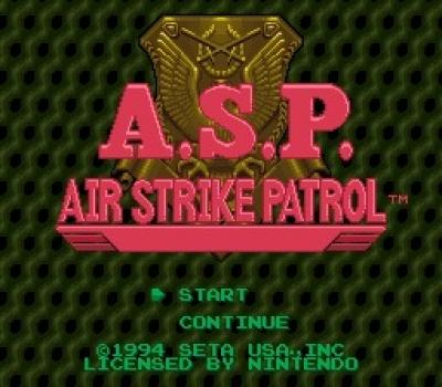 Screen ze hry A.S.P.: Air Strike Patrol
