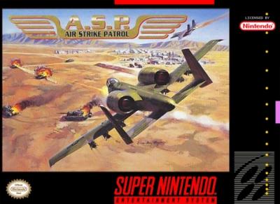 Obal hry A.S.P.: Air Strike Patrol