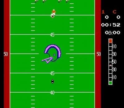 Screen ze hry 10-Yard Fight