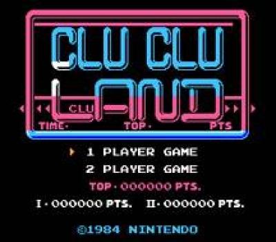 Screen ze hry Clu Clu Land
