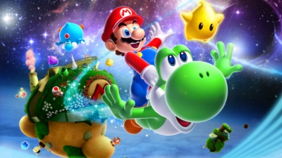 Artwork ke hře Super Mario Galaxy 2