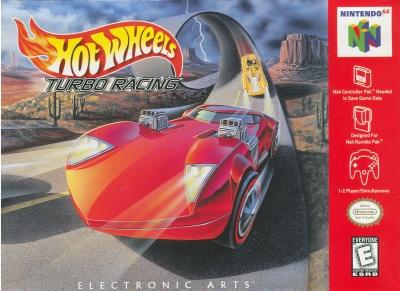 Obal hry Hot Wheels Turbo Racing
