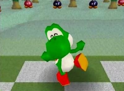 Screen ze hry Mario Golf