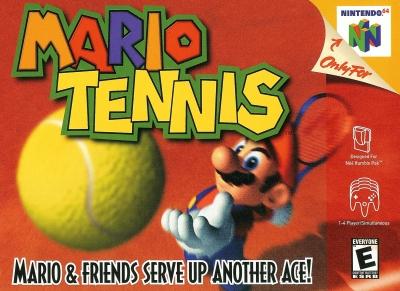 Obal hry Mario Tennis