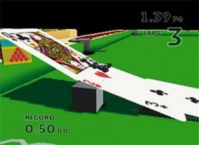 Screen ze hry Micro Machines 64 Turbo