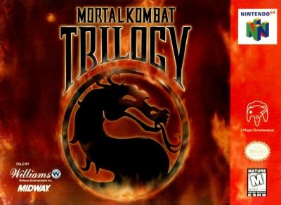 Obal hry Mortal Kombat Trilogy