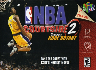 Obal hry NBA Courtside 2 Featuring Kobe Bryant