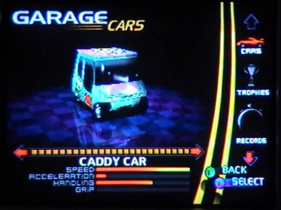 Screen ze hry Ridge Racer 64