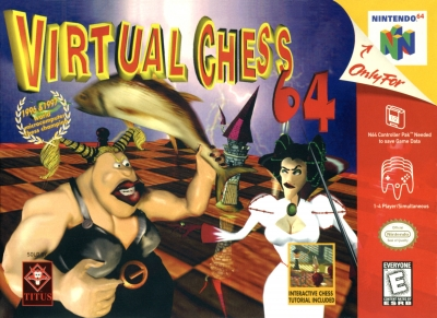 Obal hry Virtual Chess 64